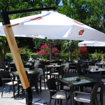 Umbrela ghiocel din lemn